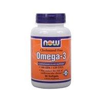 (直降) NOW Foods Omega-3 深海鱼油(1000mg,500粒) 呵护心脑血管$18.60
