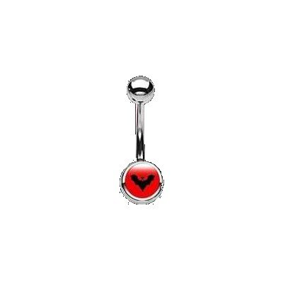 BAUCHNABELPIERCING 316L Chirurgenstahl Bad Girl logo du piercing : Bad Girl