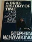 Image of A Brief History of Time from the big bang to black holes 1988 Bantam hardback