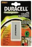 Duracell Digital Camera Battery 3.7v 1150mAh; Lithium-Ion (Li-Ion); 1150 mAh; 3.7 V; 32 g; 35 mm; 7 mm (DR9641)