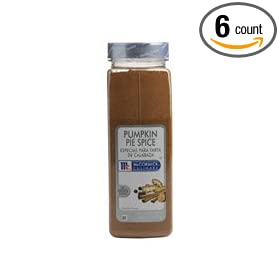 McCormick Pumpkin Pie Spice- 16 oz. container, 6 per case