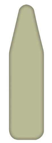 Homz Monthly Ironing Board Cover and Pad, Sage