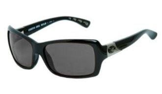 Costa Del Mar Islamorada Polarized Sunglasses - Costa 580 Glass Lens - Women's Black/Gray, One Size