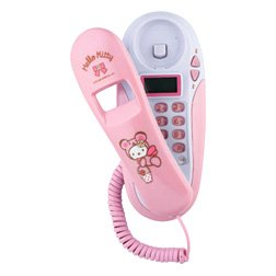 Hello Kitty Hanging Phone w/ Call Display System