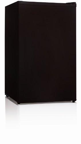 Midea Whs-109F Compact Single Reversible Door Upright Freezer, 3.0 Cubic Feet, Black