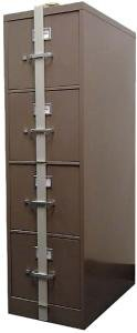 Amazon Com Hpc Slb 44 Security Locking File Cabinet Bar 4