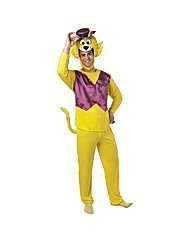 Adult Mens Top Cat Official Hanna Barnera Costume - Standard or XL - become the most tip top, leader of the gang!