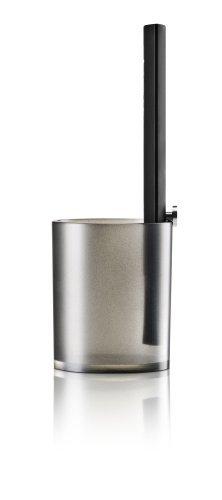 Eva Solo 571098 Grill Basting Brush and Beaker Set, Silicone, Black Outdoor, Home, Garden, Supply, Maintenance