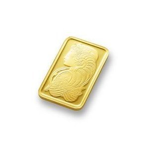 (5 gm) .999 Fine Gold Bar - (With Assay Card) PAMP SUISSE