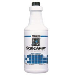 Scaleaway Bathroom Cleaner, Floral Scent, 32 Oz Bottle, 12/carton