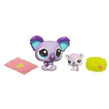 Littlest Pet Shop Cutest Pets Figures Mommy Baby Koala front-897863