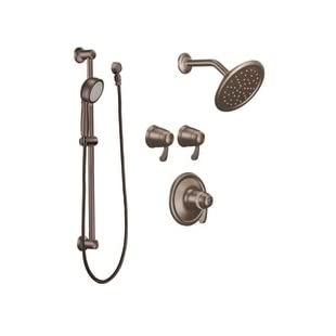Moen TS270ORB 3/4-Inch ExactTemp Vertical Spa Set, Oil Rubbed Bronze, Valve Not Included