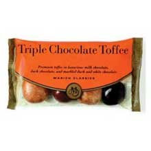 Marich Triple Chocolate Toffee, 2.3-Ounce (Pack of 12)
