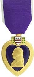 Purple Heart Medal (as issued by the US Military)