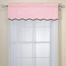 Royal Velvet Pink Valance - 1