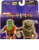 Marvel Minimates 2Pk Collectible Figures - Professor Hulk Vs. Abomination - 1