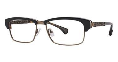 Affliction THORN Designer Eyeglasses - Tortoise/Gold