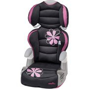 Evenflo Big Kid Amp Booster Car Seat, Carrissa front-20427
