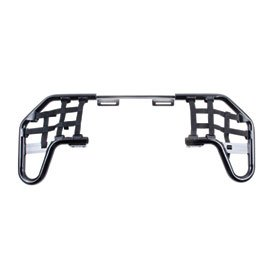 Tusk Comp Series Nerf Bars Black With Black Webbing - Fits: Honda TRX 450ER 2006-2009 (450er Nerf Bars compare prices)