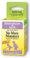 Homeopathy for Kids - No More Monsters, 125 chewable tablets