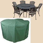 Circular 6-8 Seater Patio Set Waterproof Protective Cover C523
