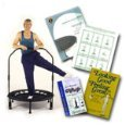 David Hall's Cellerciser Rebounder Trampoline Kit