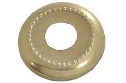 "B&P Lamp 1 1/8"" Stamped Brass Check Ring"