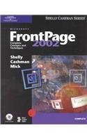 Microsoft FrontPage Complete Concepts and Techniques by Shelly