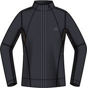 Adidas Climawarm Women's Manches Longues Side Zip Top - XS