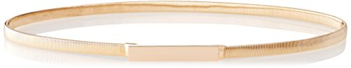 elise m. Women's Dara- Skinny Coil Belt, Gold, One Size (Gold Coil Belt compare prices)