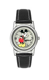 Disney Mickey Mouse Silver Dial Women's watch #MCK621