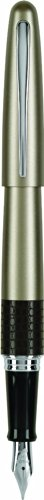 Pilot MR Animal Collection Fountain Pen, Matte Gold with Lizard Accent, Medium Nib, Black Ink (91136) (Fountain Pen And Inc compare prices)