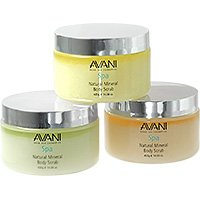 Avani Dead Sea Natural Mineral Body Scrub (Citrus / Vanilla)