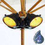 Heatmaster U3 Popular 2kW Umbrella Patio Heater
