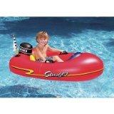 Speedboat Inflatable Ride-On Kiddie 1 Red