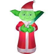 5 Feet Tall Star Wars YODA Christmas Airblown Inflatable Air Blown (Air Blown Inflatables)