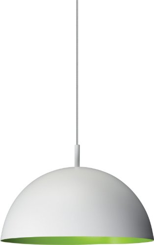 Philips 40228/33/48 Roomstylers Pendant Light, White With Green Inside