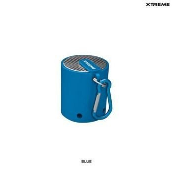 Mini Bluetooth Speaker By Xtreme, Travel Size, Rechargeable, Blue