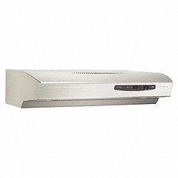 Allure I (Qs1) Series 36 In. 4-Way Convertible Under Cabinet Range Hood - Stainless Steel front-446290
