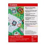 Canon TR-301 T-Shirt Iron On Transfers A4 - (10 Sheets) (8938A001)