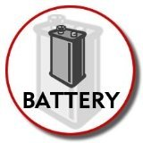 PANASONIC PP506 Replacement Battery for Cordless Telephones