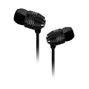 Black Stereo Precision Turbine Bass Headphone Headset With Microphone For Sony Xperia Ion