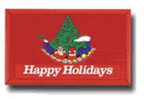 Holiday Train - Doormat/Welcome Mat