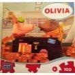 Olivia Ducklings 100 Piece Puzzle - 1