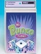 Talicor 2195 Its Bunco Time- Invitations