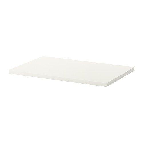 IKEA-LINNMON-Tischplatte-wei-100x60-cm