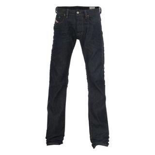 Diesel Larkee 802A Straight Mens Jeans Dark Denim 32 L32