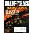 Road & Track August 2010 Mustang vs Camaro on Cover, Rolls Royce vs Bentley, Ferrari 599 GTO, Aston Martin V12 Vantage (Top Gear Aston Martin compare prices)