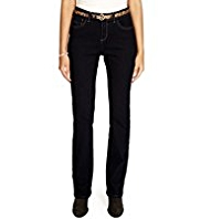 Per Una Roma Body Shape Perfect Sculpt Straight Leg Jeans with Belt