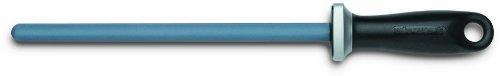 Wüsthof 4455 Fusil Céramique Grain 360 Bleu 23 cm